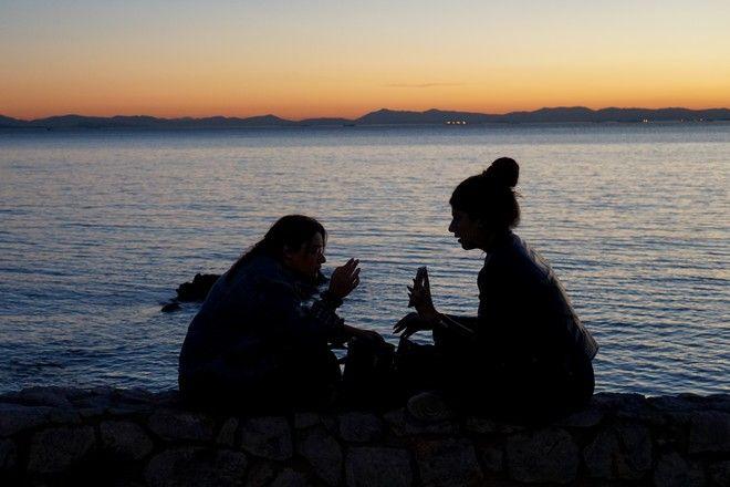 ΑΠΟΓΕΥΜΑΤΙΝΗ ΒΟΛΤΑ ΣΤΗ ΠΑΡΑΛΙΑ ΤΟΥ ΦΛΟΙΣΒΟΥ. (EUROKINIS/ ΓΙΑΝΝΗΣ ΠΑΝΑΓΟΠΟΥΛΟΣ)