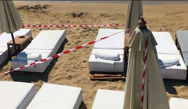 Σαφάρι ελέγχων: Λουκέτο σε γνωστό beach bar της Πάρου από την ΑΑΔΕ