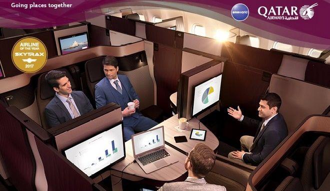 Απίστευτη αεροπορική σουίτα από την Qatar Airways