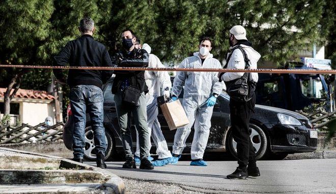 Εικόνα από τον Άλιμο όπου δολοφονήθηκε ο Γιώργος Καραϊβάζ