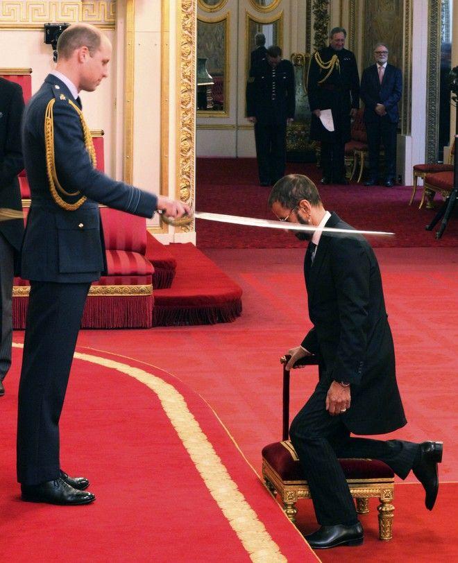Ringo Starr (Yui Mok/PA via AP)