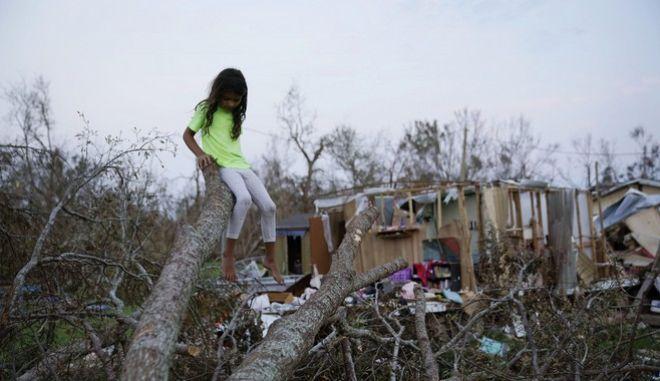 Η καταστροφή που άφησε πίσω της η Άιντα στη Λουιζιάνα