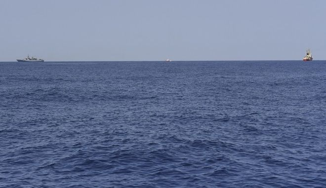 Εικόνα από τη Μεσόγειο θάλασσα