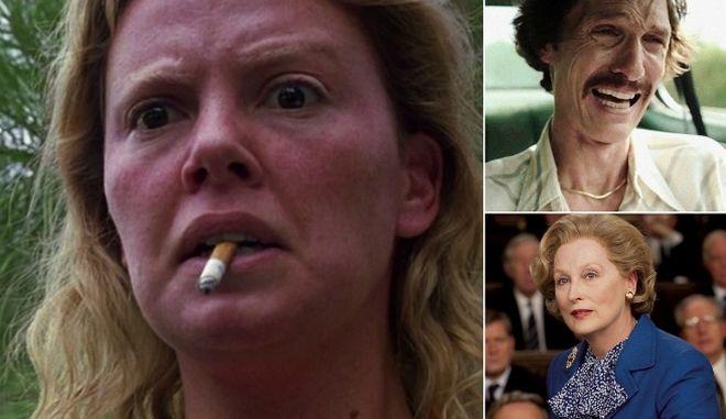 Όσκαρ 2018: Επτά μεταμορφώσεις ηθοποιών που τους έφεραν τη νίκη