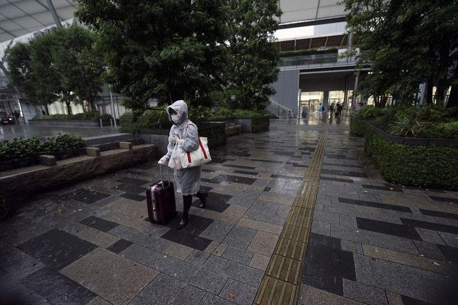 Ισχυρό πλήγμα από τον τυφώνα Χαγκίμπις στο Τόκιο