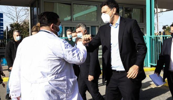 Στο ΑΧΕΠΑ ο Υπουργός Υγείας