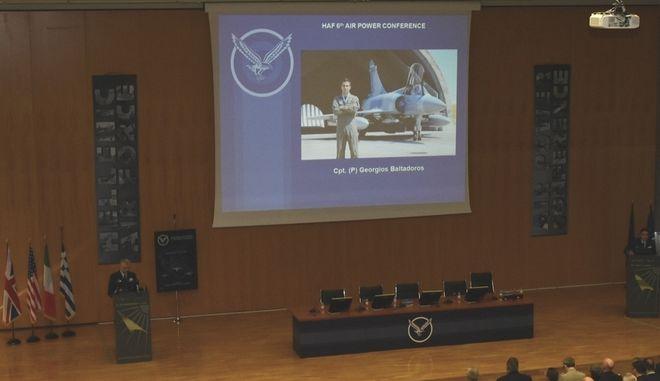6ο Συνέδριο Αεροπορικής Ισχύος: Αφιερωμένο στη μνήμη του Γιώργου Μπαλταδώρου