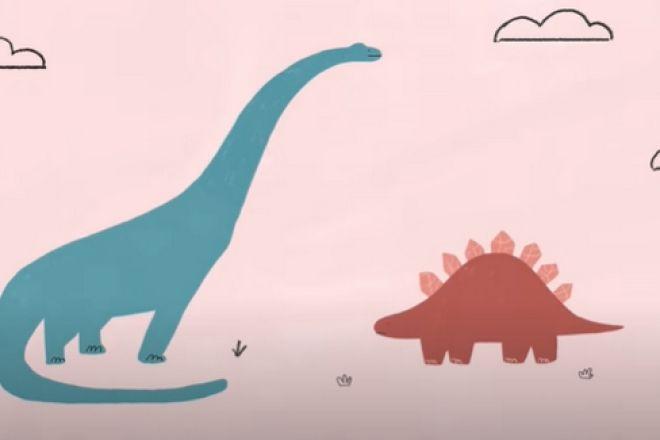 """""""Ερωτευμένοι δεινόσαυροι"""": Το σπαρακτικό τραγούδι μιας 4χρονης θα γίνει παιδικό βιβλίο"""