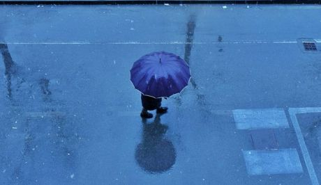 Μια βροχερή μέρα