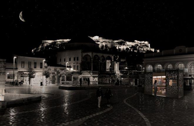 Πώς θα μοιάζουν τα αυριανά περίπτερα της Αθήνας;