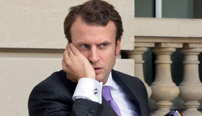Ο Γάλλος πρωθυπουργός Εμμανουέλ Μακρόν