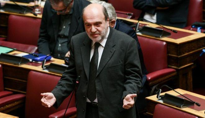 Ο βουλευτής του ΣΥΡΙΖΑ Τρύφων Αλεξιάδης