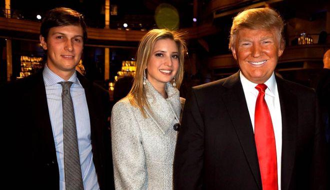 Ο Τραμπ διορίζει τον γαμπρό του σύμβουλο του Λευκού Οίκου