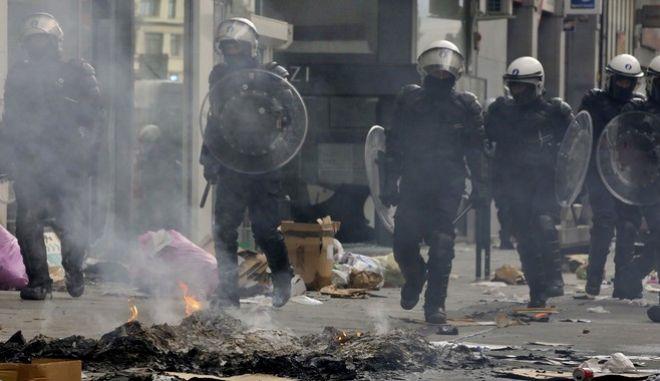 Επεισόδια και συλλήψεις στις Βρυξέλλες