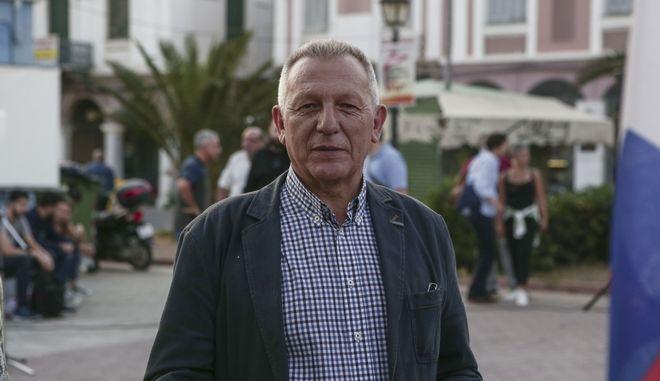 Ο βουλευτής του ΚΚΕ, Θανάσης Παφίλης