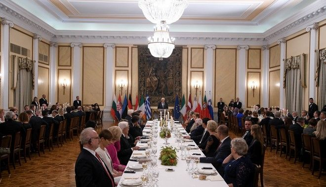 Επίσημο Δείπνο προς τιμήν των Αρχηγών Κρατών που συμμετείχαν στην συνάντηση της