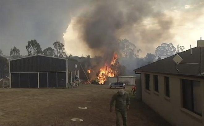 Μεγάλες φωτιές στην Αυστραλία