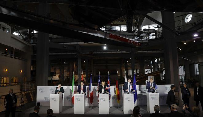 Από παλαιότερη Σύνοδο των υπουργών υγείας των G7 στο Μιλάνο τον περασμένο Νοέμβριο