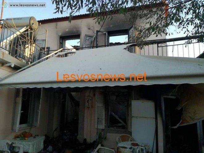Τραγωδία στη Μυτιλήνη: Δύο αδέλφια νεκρά από πυρκαγιά στο σπίτι τους