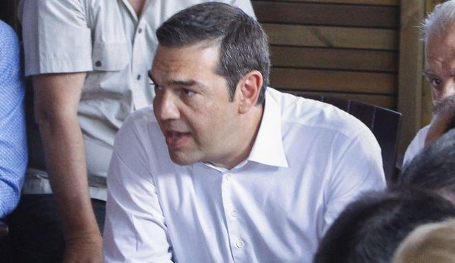 Επίσκεψη του Πρωθυπουργού Αλέξη Τσίπρα στο Μάτι Αττικής