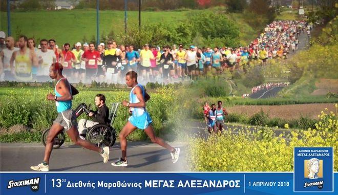 Μοναδικές εμπειρίες και πολλοί διαγωνισμοί 'τρέχουν' στον Stoiximan.gr 13ο Διεθνή Μαραθώνιο 'ΜΕΓΑΣ ΑΛΕΞΑΝΔΡΟΣ'
