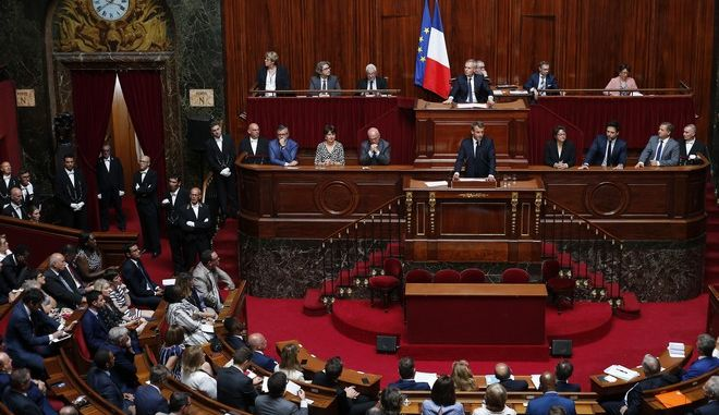 Ο Γάλλος πρόεδρος στο Κογκρέσο