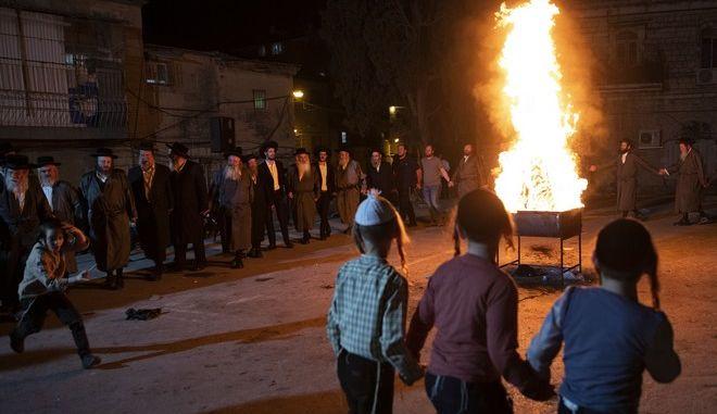 Παραδοσιακή γιορτή στο Ισραήλ