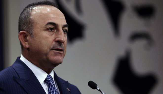 Ο Τουρκος υπουργός Εξωτερικών.