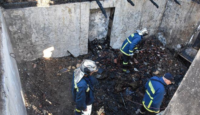 Πυρκαγιά σε οικία στην Αργολίδα, στην περιοχή Πυργέλα του Δήμου Αργους Μυκηνών