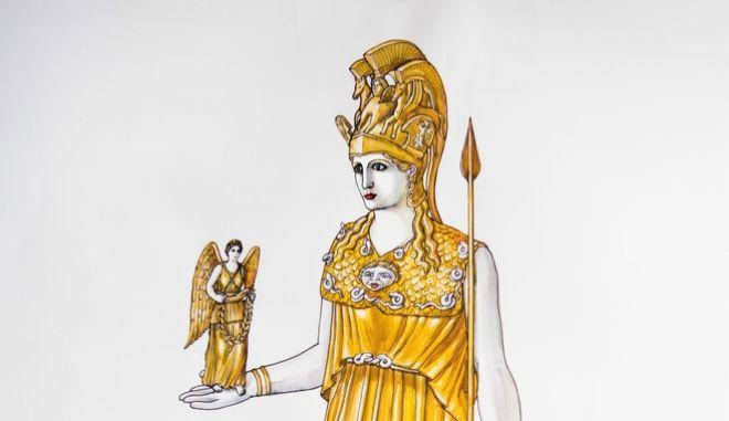 Άγαλμα της Αθηνάς Παρθένου