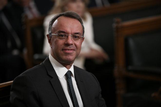 O υπουργός Οικονομικών Χρήστος Σταϊκούρας.