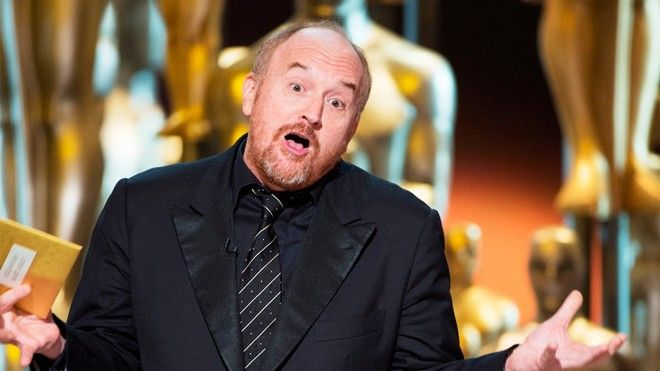 EDITORIAL USE ONLY. NO BOOK PUBLISHING WITHOUT PRIOR APPROVAL Mandatory Credit: Photo by Mandatory Credit - A.M.P.A.S/REX/Shutterstock (5600270fy) A.M.P.A.S. - Louis C.K.. presents 88th Annual Academy Awards, Show, Los Angeles, America - 28 Feb 2016