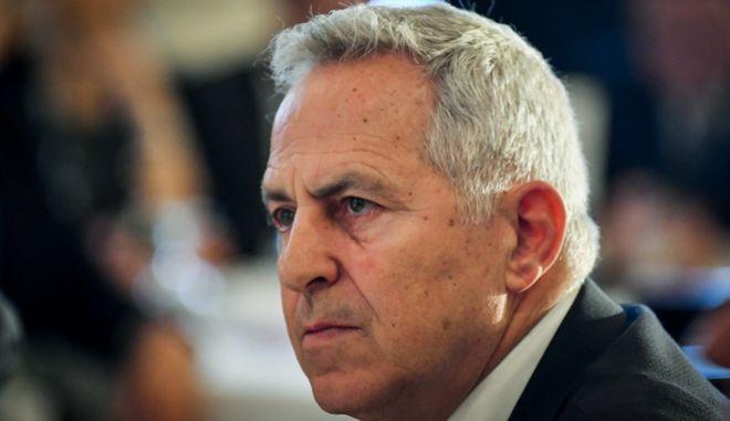 Ο πρώην Υπουργός Εθνικής Άμυνας, Ευάγγελος Αποστολάκης