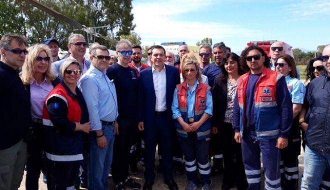 Ο Αλέξης Τσίπρας εγκαινίασε το νέο νοσοκομείο της Λευκάδας