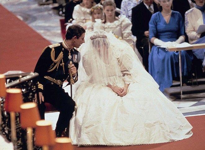 Ο γάμος της Πριγκίπισσας Νταϊάνα με τον Πρίγκιπα Κάρολο