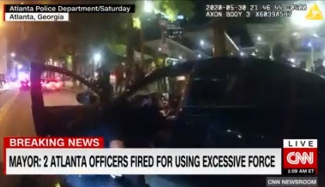 Απόλυση δύο αστυνομικών στην Ατλάντα για υπέρμετρη βία