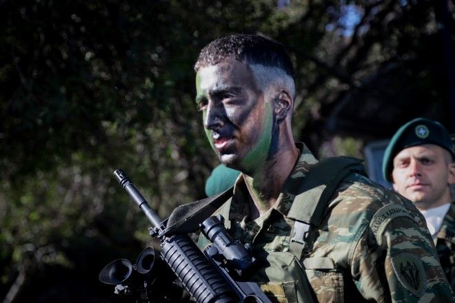 Προετοιμασίες για την στρατιωτική παρέλαση για την εθνική επέτειο της 25ης Μαρτίου 1821 στην Αθήνα, την Δευτέρα 25 Μαρτίου 2019. (EUROKINISSI/ΓΙΑΝΝΗΣ ΠΑΝΑΓΟΠΟΥΛΟΣ)