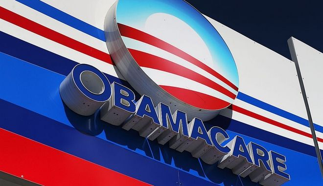MIAMI, FL - DECEMBER 15:  An Obamacare sign is seen on the UniVista Insurance company office on December 15, 2015 in Miami, Florida. Today, is the deadline to sign up for a plan under the Affordable Care Act for people that want to be insured on January 1, 2016.  (Photo by Joe Raedle/Getty Images)