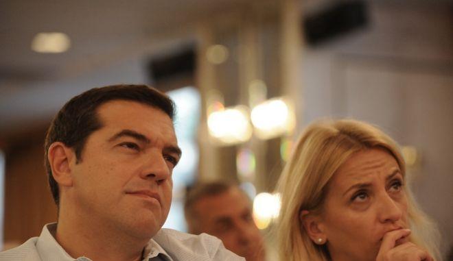 Συνεδρίαση  της Κεντρικής Επιτροπής του ΣΥΡΙΖΑ, Σάββατο 17 Σεπτεμβρίου 2016  στο ξενοδοχείο DIVANI CARAVEL.  (EUEOKINISSI/ΤΑΤΙΑΝΑ ΜΠΟΛΑΡΗ)