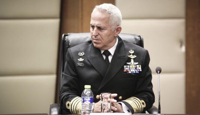 Ο Αρχηγός ΓΕΕΘΑ, Ναύαρχος Ε.Αποστολάκης