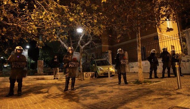 ΑΘΗΝΑ-Κλειστή η Νομική Σχολή-Διαμαρτυρία Φοιτητών.(Eurokinissi-ΠΑΝΑΓΟΠΟΥΛΟΣ ΓΙΑΝΝΗΣ)
