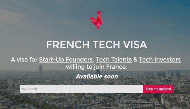 Η Γαλλία θα δίνει πλέον βίζα σε ξένους startuppers