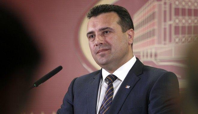 O πρωθυπουργός της πΓΔΜ Ζόραν Ζάεφ