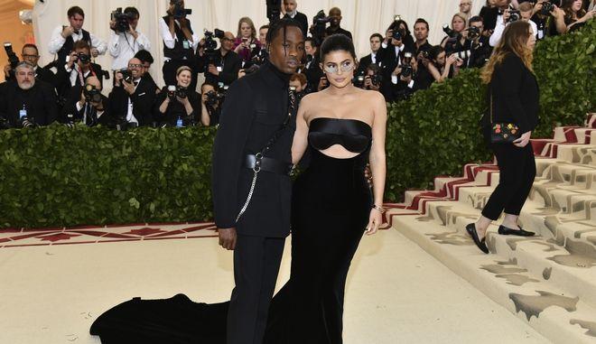 Ο Travis Scott και η Kylie Jenner