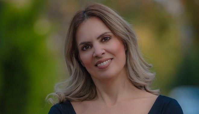 Η δημοσιογράφος του Ομίλου της 24MEDIA Αγγελική Σπανού