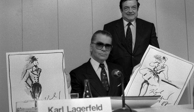 Σαν σήμερα το 1938 γεννήθηκε ο Γερμανός μόδιστρος Καρλ Λάγκερφελντ