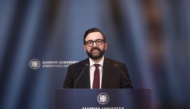 Ο κυβερνητικός εκπρόσωπος, Χρήστος Ταραντίλης