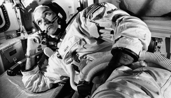 """ΗΠΑ: Πέθανε ο Μάικλ Κόλινς, ο """"τρίτος άνθρωπος"""" της αποστολής Apollo 11"""