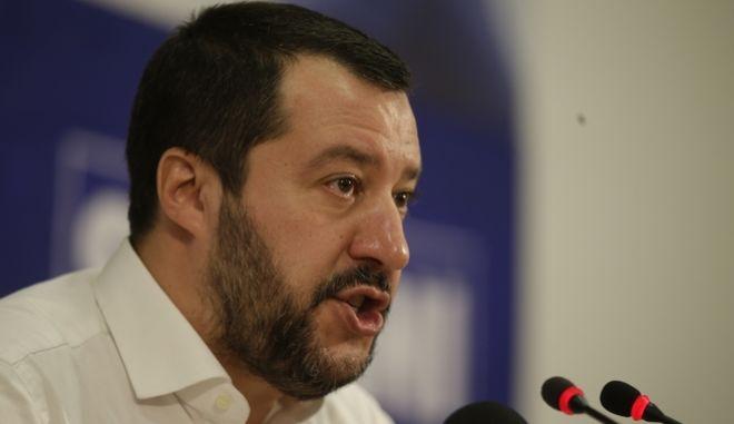 Ο νέος υπουργός Εσωτερικών της Ιταλίας, Ματέο Σαλβίνι