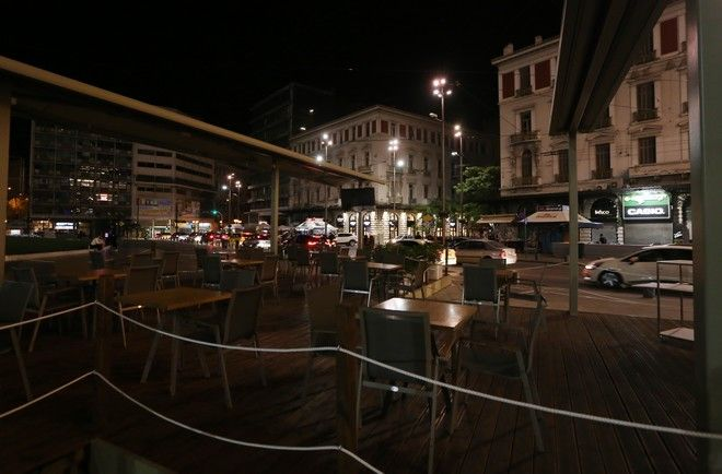 Πρώτη μέρα απαγόρευσης νυχτερινής κυκλοφορίας στην Αθήνα